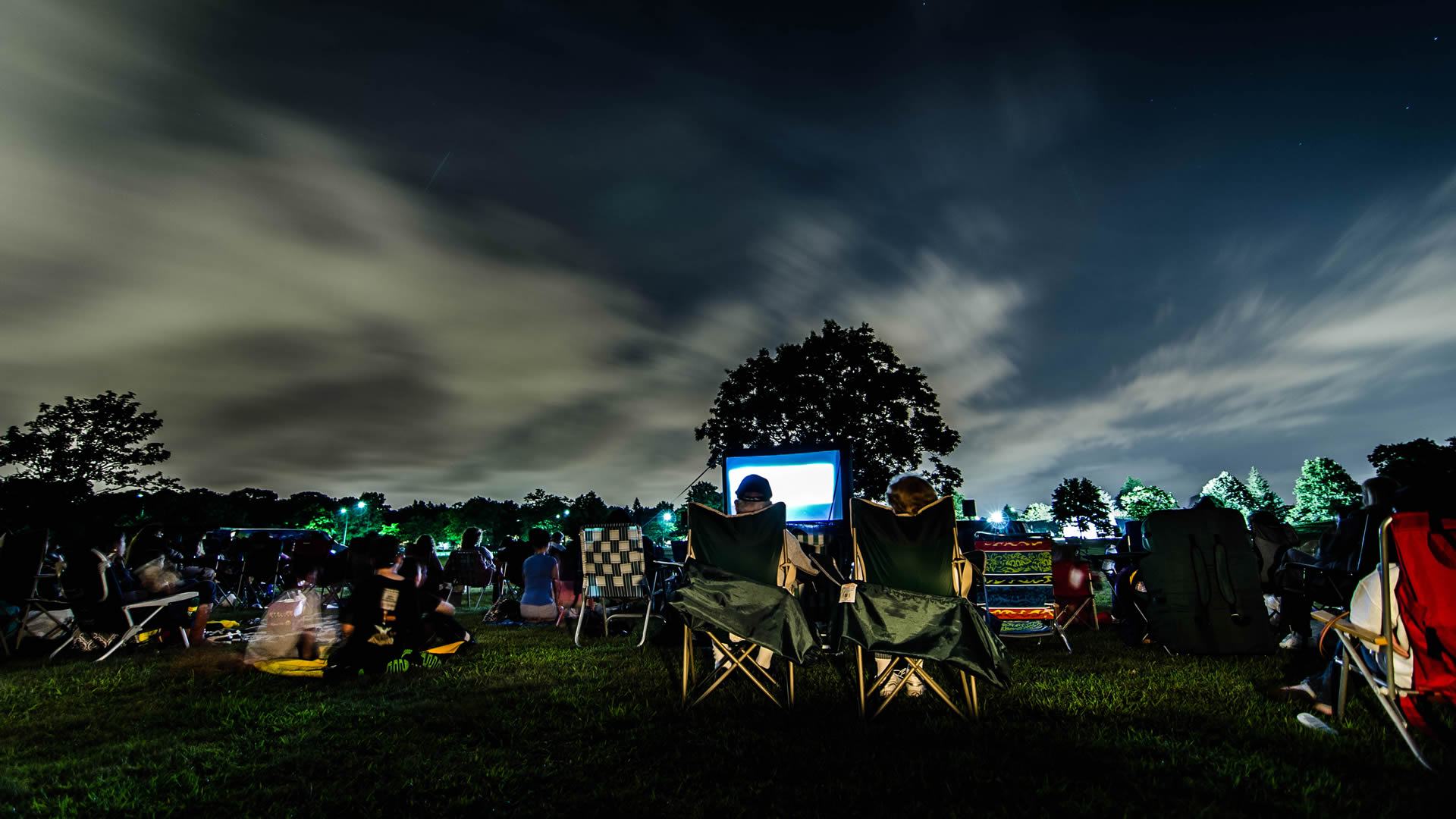 Cedar Creek Park, Movie Night